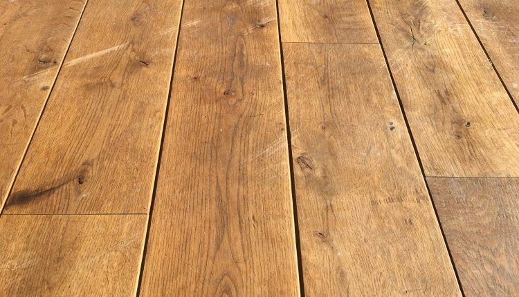 Renoveren schuren en olieen van massief eiken vloer